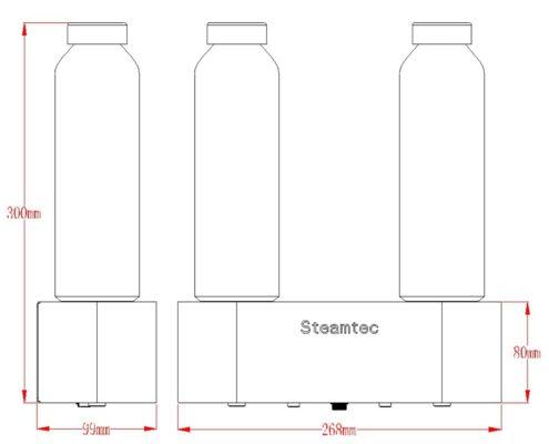TOLO-aroma-pump-size