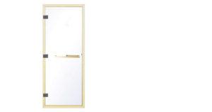 TOLO steam room door golden with back holder